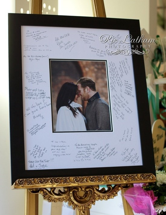 Signing frame
