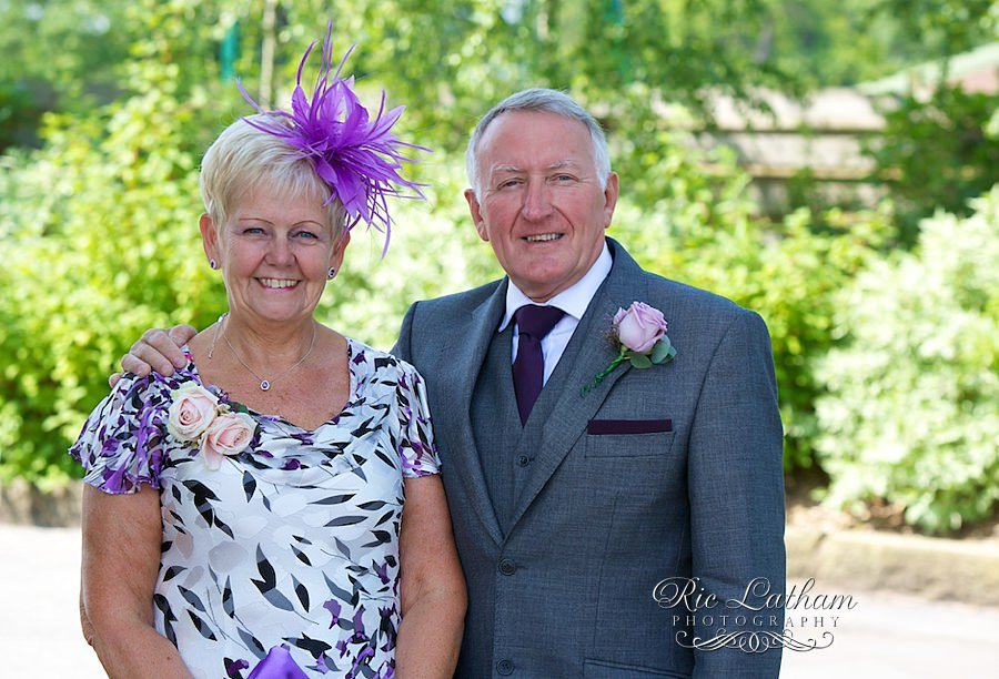 mother and father of the bride
