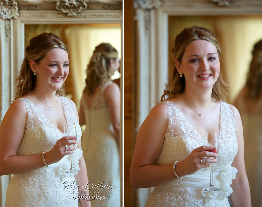 bride before the off
