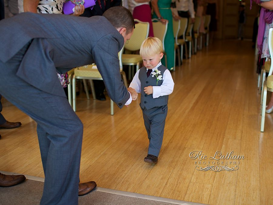 paige boy and the groom