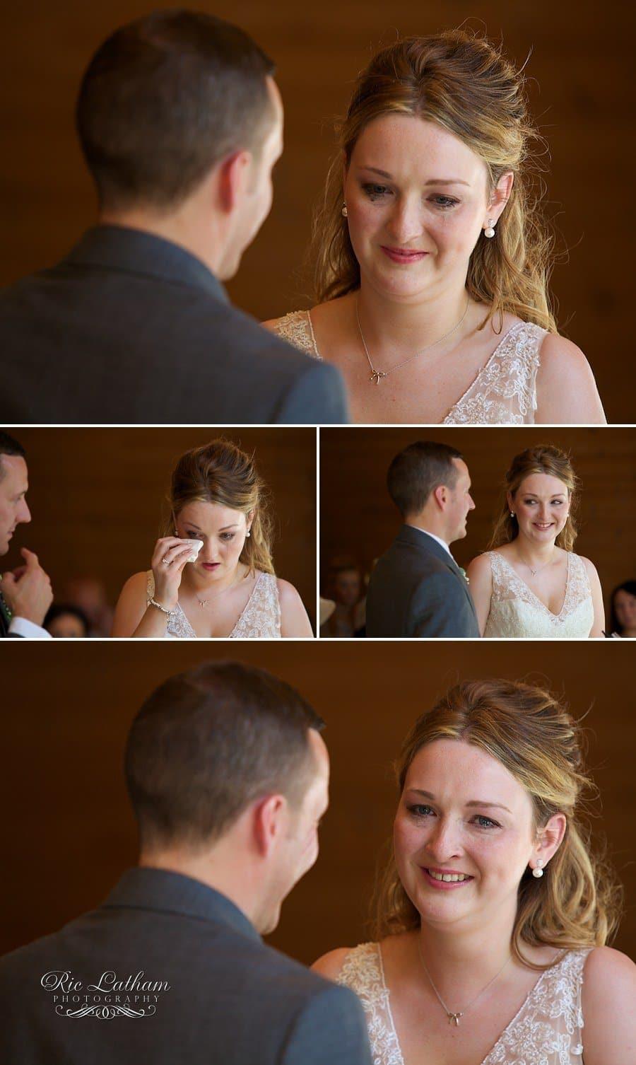 brides mascara running