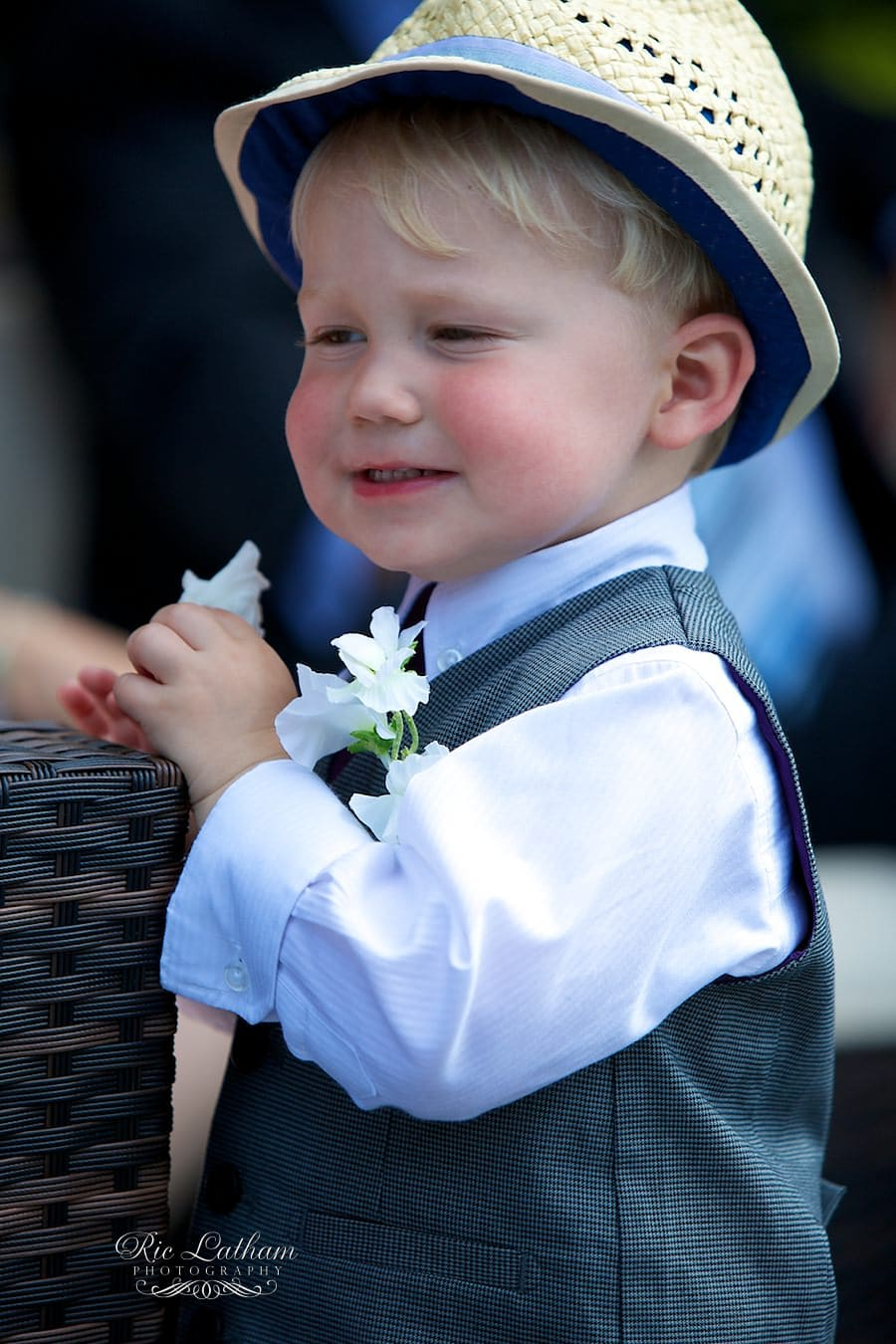 paige boy at wedding