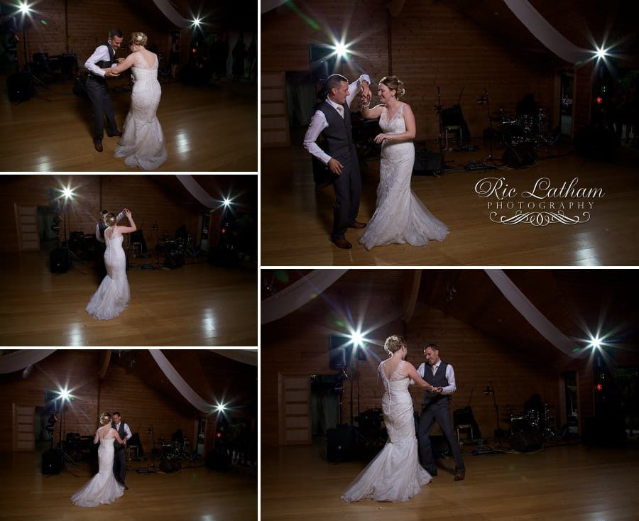 Bride and grooms first dance at styal lodge cheshire